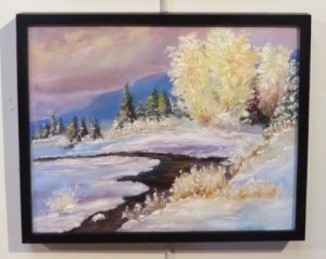 """Frosty Morn on Sawbill"" by Kathelen Fox Weinberg."
