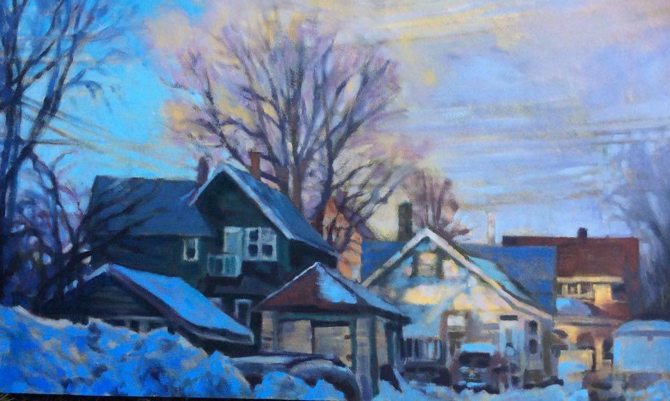 Painting by David Gilsvik.