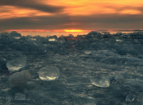 Ice Agates by Gregory A. Israelson.