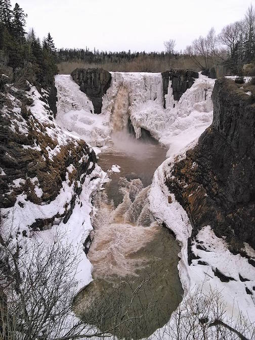 justin Vrba High Falls