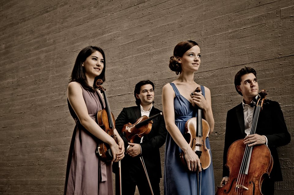 The Minetti Quartet performs at the Arrowhead Center for the Arts at 7:30 p.m. Saturday.