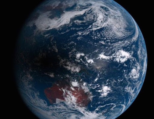 Photo credit:  Japan's Himawari-8 meteorological satellite