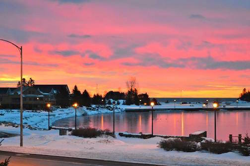 Sally Berg took this photo the other day. She calls it Grand Marais Morning. Enjoy!