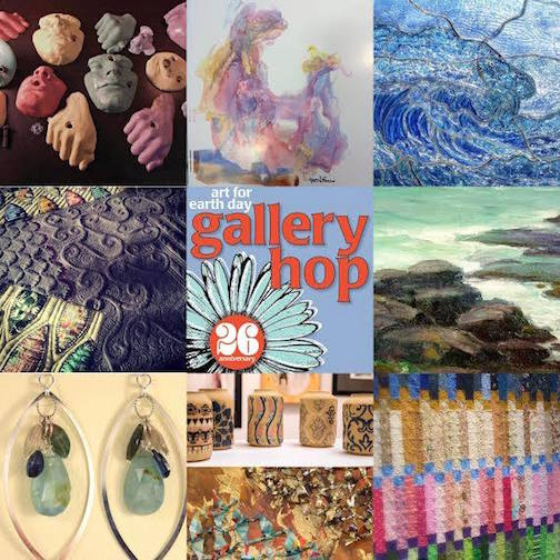 gallery hop collage