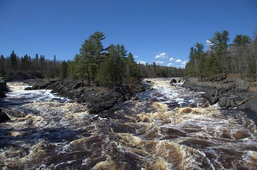 Jay Cooke State Park by Becky Poirier.