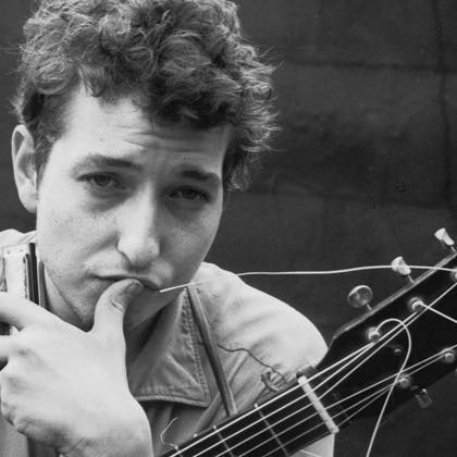 An exhibit on Bob Dylan opened at the Karpeles