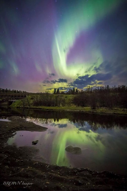 Northern Lights by Curt Brown.