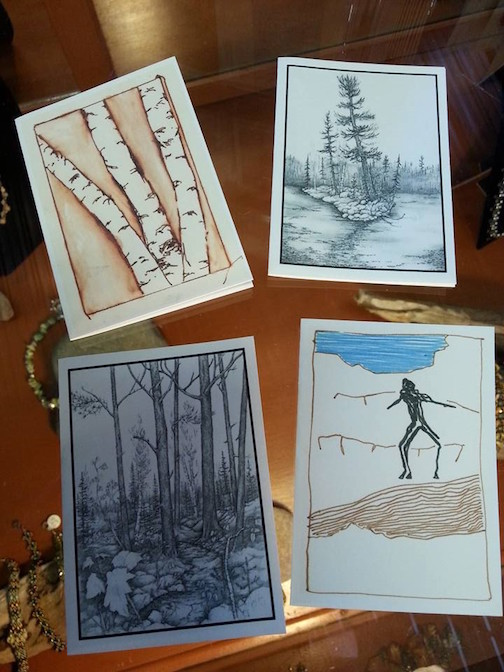 Cards by David Steckelberg.