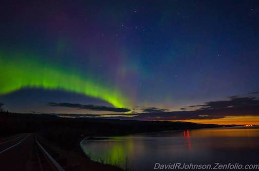 Northern Lights by David Johnson.
