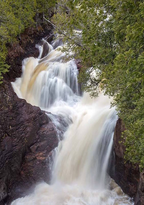 Debbie Kippen took this photo of the falls at Devil's Kettle in Judge Magney State Park.
