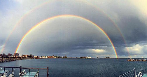 Double Rainbow by Jeff Niesen.