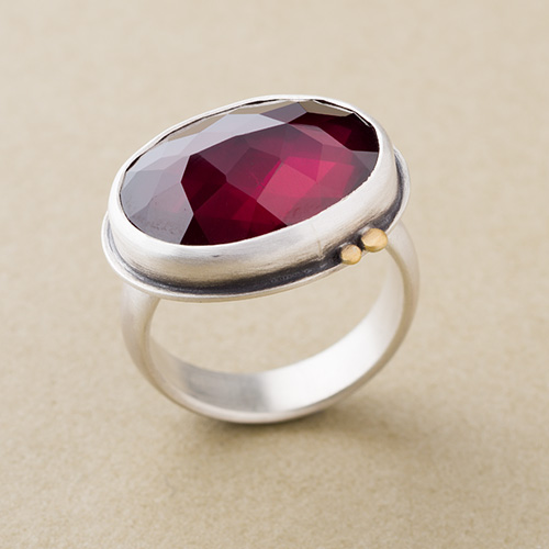 A ruby ring by