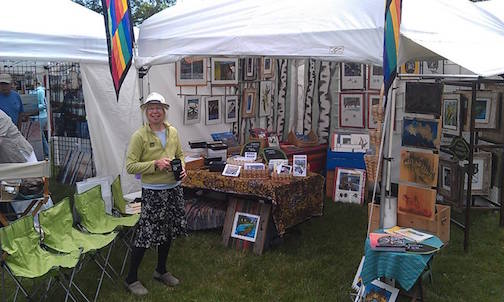 Betsy Bowen will participate in the Park Point Art Fair this weekend.