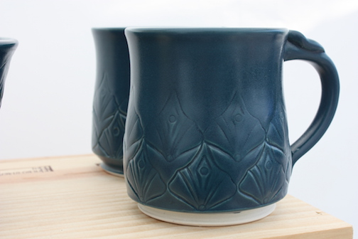 Cups by Maggie Anderson.