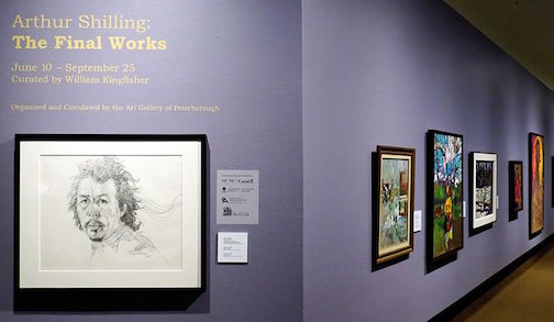 """Arthur Shilling: The Final Works"" is on exhibit at the Thunder Bay Art Gallery."