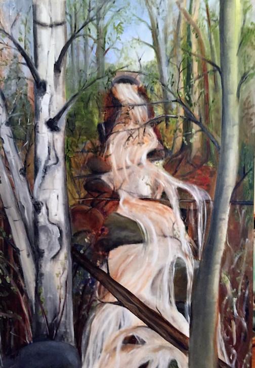 """""""Creek"""" by Helen Hartley."""