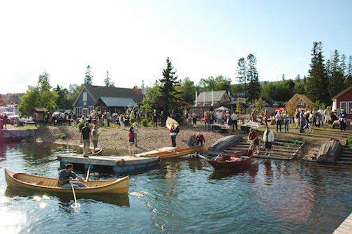 North House Folk School celebrates the 19th annual Wooden Boat Show this weekend.