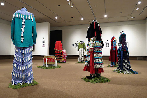 """The Teaching Is In the Making"" is on exhibit at the Thunder Bay Art Gallery."