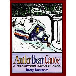 antler bear canoe