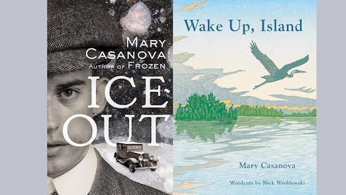 Author Mary Casanova will talk about her latest books at Drury Lane Books on Saturday.