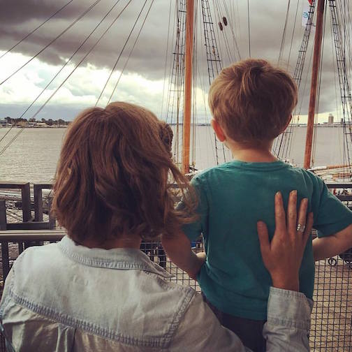 """Tall Ships Stir Our Imagainations,"" posted by Erin Watson."