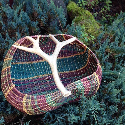 Basket by Cathryn Peters.