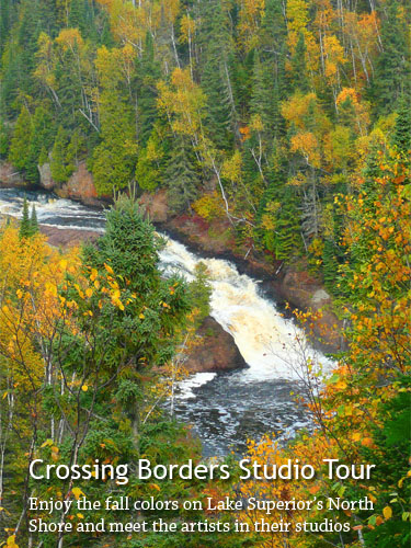 The Crossing Borders Studio Tour & Sale starts Sept. 23.