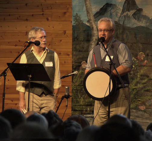 Duluth poet, Bart Sutter and his brother, musician Ross Sutter, will perform at the Grand Marais Public Library at 6 p.m. Friday.