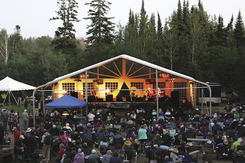 The Radio Waves Music Festival features three days of music at Sweetheart's Bluff in the Grand Marais Rec Park.