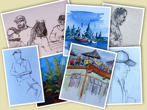 Arrowhead Sketchers by David Morris.