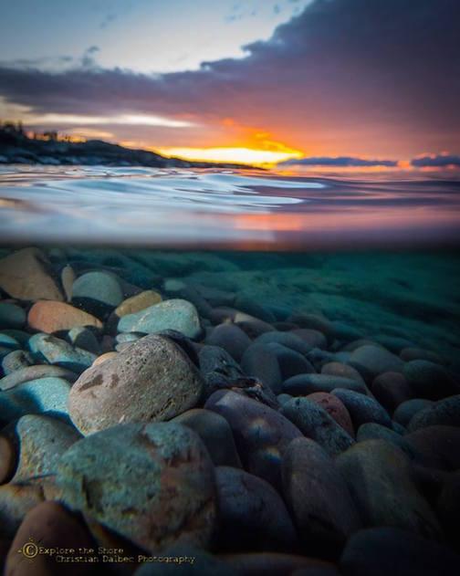 Steward River Sunrise by Christian Dalbec.