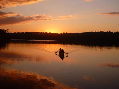 BWCA at Sunsest by John Amren.