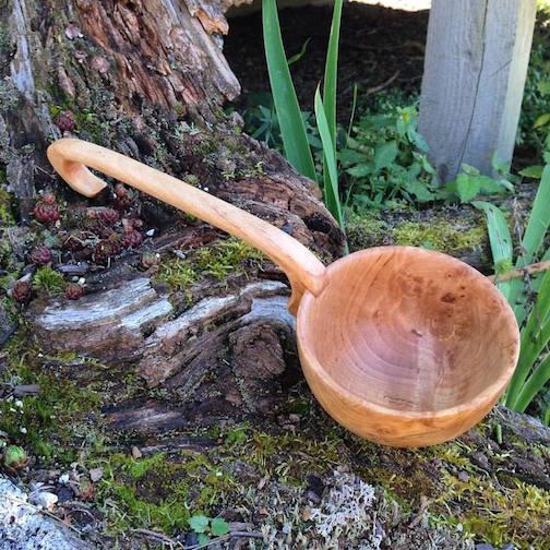 This sauna scoop by Mark Reschke is at Kah-Nee-Tah Gallery.