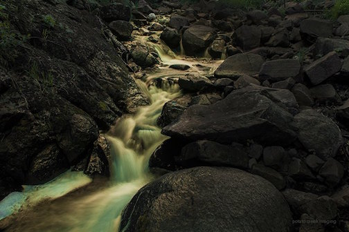 Creek by Moonlight by Kik Schleife.