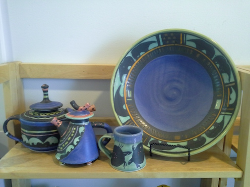 Wisconsin potter Martye Allen is a new artist at Last Chance Gallery in Lutsen.