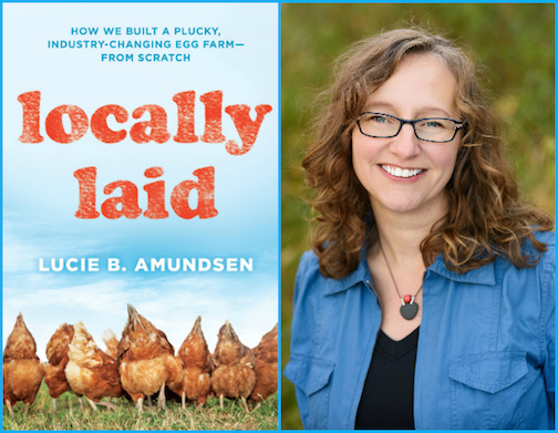 "Lucie Amundsen of ""Locally Laid"" will be at Drury Lane Books on Saturday."