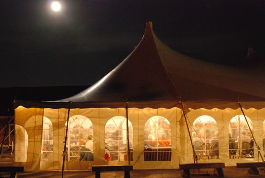 Unplugged XV features two concerts under the Big Top at North House Folk School.