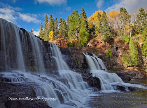 Middle Falls at Gooseberry State Park by Paul Sundberg.