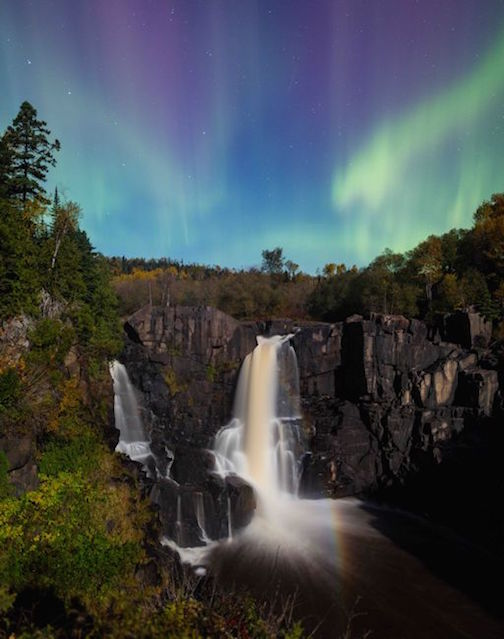 High Falls at Grand Portage by Jim Schnortz.