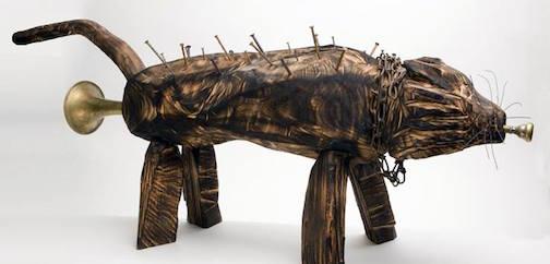 Sculpture by John Books.