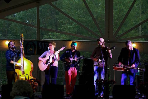 The Plucked Up String Band plays at WTIP on Saturday