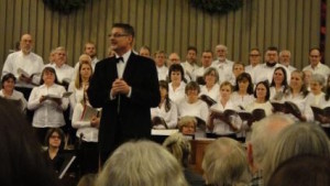 Bill Beckstrand is the musical director for the Borealis Chorale and Orchestra.