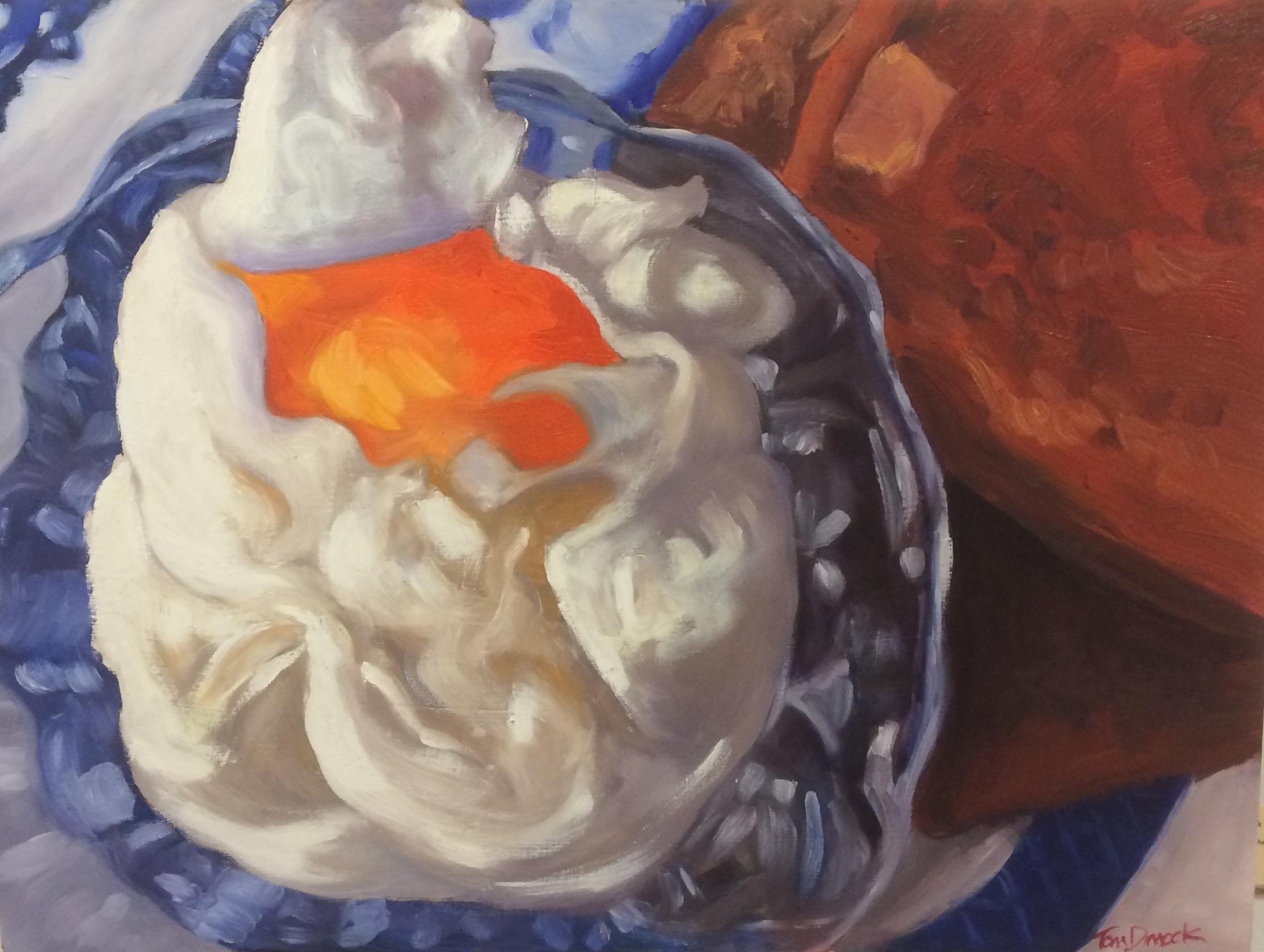 """Ode to Poached Eggs"" by Tom Dimock."