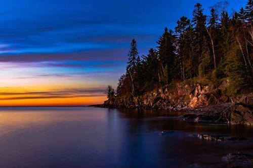 Sunrise in Two Harbors by Scott Rockvam.