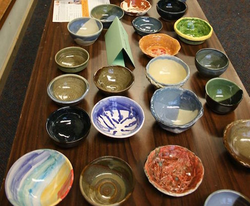 Empty Bowls 2016 will be at Bethlehem Lutheran Church serving soups and bread from 11 a.m. to 1 p.m. and 5-7 p.m. Thursday.