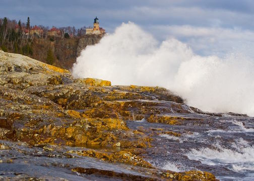 Split Rock Lighthouse by Dennis O'Hara.