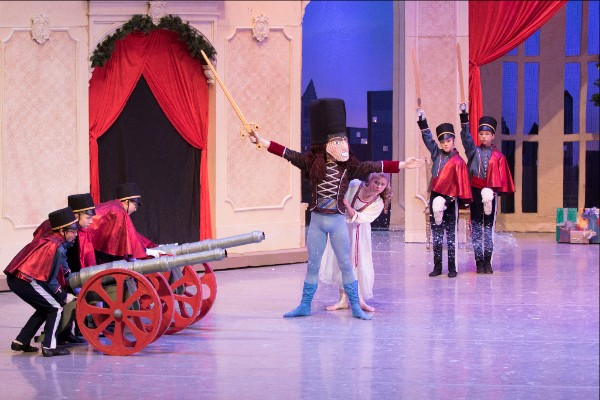"The Minnesota Ballet performs ""The Nutcracker"" in Duluth this weekend."