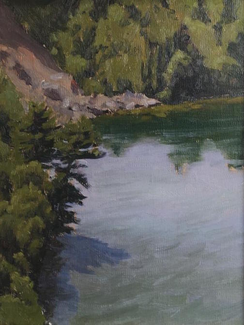 """Summer on Rose Lake"" by Neil Sherman."