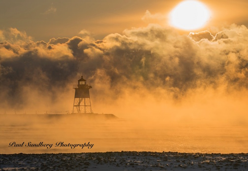 Sea Smoke by Paul Sundberg.