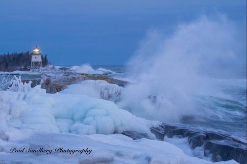 Winter Storm by Paul Sundberg.